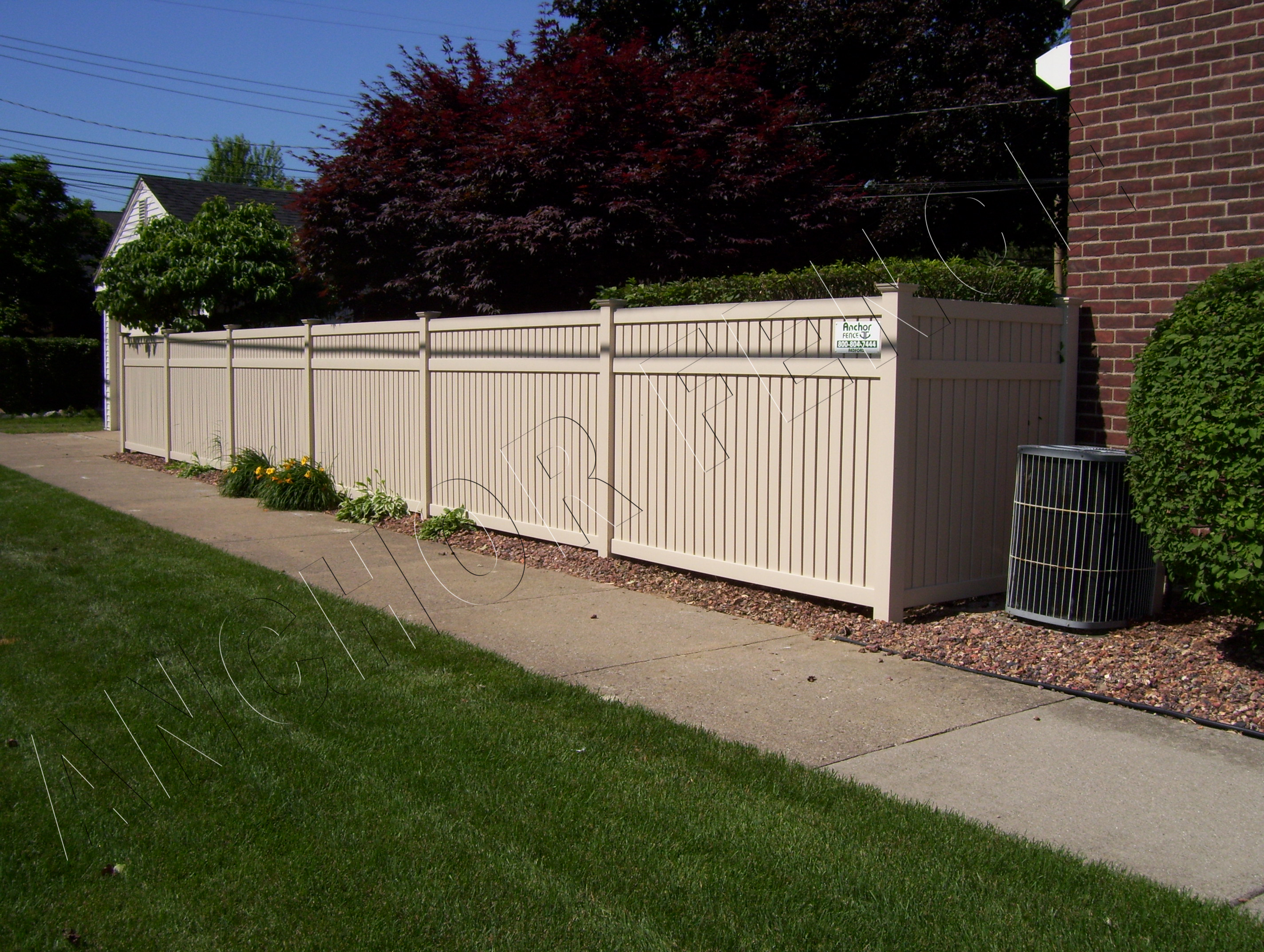 Privacy anchor fence and supply vinyl fence 020 baanklon Choice Image