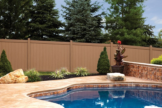 vinyl privacy fence designs